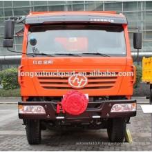SAIC-IVECO HONGYAN KINGKAN, 310hp 6 * 4 Camion à benne basculante 2