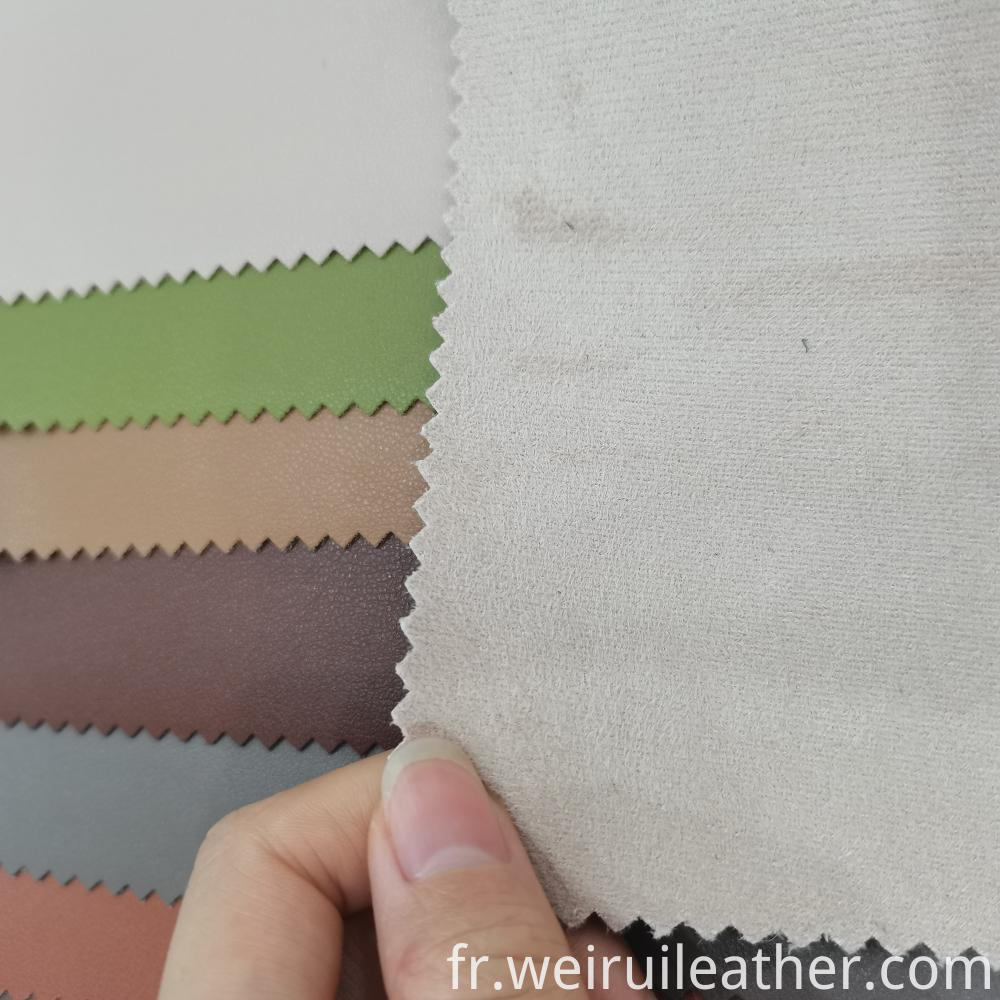 Good Color Fastness Pu Leather