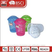 Vente chaude & nouveau panier de basket(70L)/lavage de linge en plastique avec couvercle