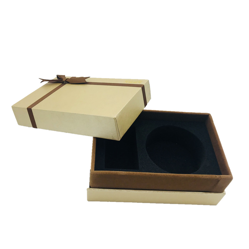 Paper Cosmetic Box With Foam