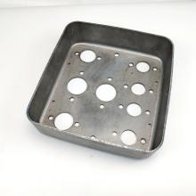 Oem Custom stamping plate hole perforated galvanized sheet metal fabrication