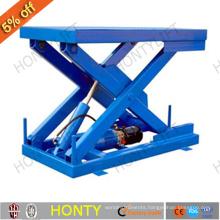 Manual hydraulic lifting table trolley