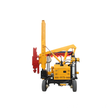 Mini Guardrail Pile Driver Hot Sale