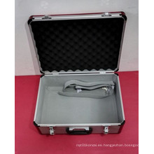 Caja de instrumento de aluminio resistente hermosa modificada para requisitos particulares