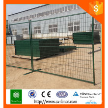 Alibaba High standard Galvanized PVC coated Temporary Fence/portable fence