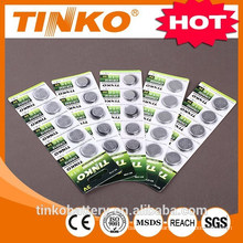 Lithium CR2032 3v button battery with good quality and fast delivery
