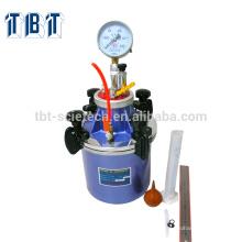 Medidor de arrastre de aire de mortero de cemento T-BOTA / medidor de contenido de aire
