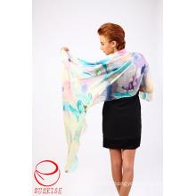 High Quality Winter Long Silk Pashmina Scarf