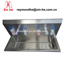 Stainless Steel Washing Trough for Hospital, Surgical Scrub Sink with sensor taps