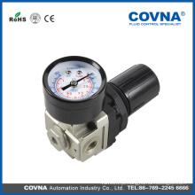 Válvula ajustável do regulador de pressão de ar com indicador da fonte Unidade de tratamento