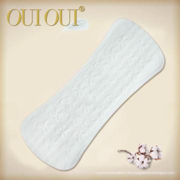 Individuell verpackte, atmungsaktive, natürliche, organische Slipeinlagen für Jugendliche