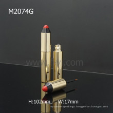 Pen Shape Custom Cosmetic Packaging Gold Empty Pencil Eyeliner