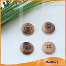 Природные деревянные кнопки для одежды BN8002