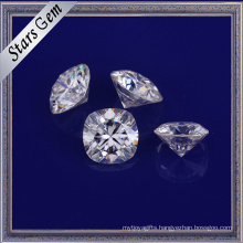 Top Quality Well Polished E/F White Color Moissanite Gemstones for Gold Jewelry