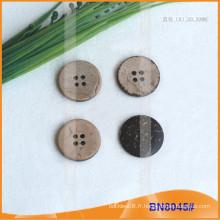 Boutons de noix de coco naturels pour vêtement BN8045
