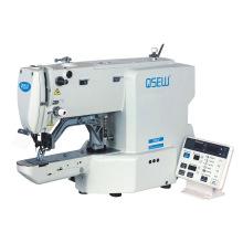 QS-433H Electronic button attaching bartacking big hook net rope stitch sewing machine