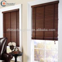 Fornecedor de China faux persianas de madeira cortina de janela de madeira
