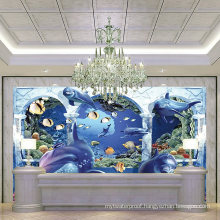 The Scenery on The Beach Lively 3D Tiles for Walls