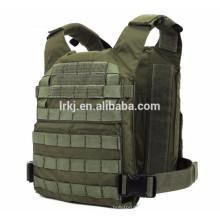 NIJ IIIA leve mens militar à prova de balas colete armadura corporal tática