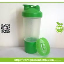 Protetor de proteína de logotipo personalizado em garrafas de água plásticas
