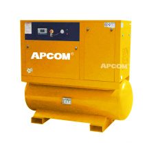 20HP 15KW screw air compressor mountain on 500 lilter air tank dryer all in one compressor 60 70 80 gallons air compressor
