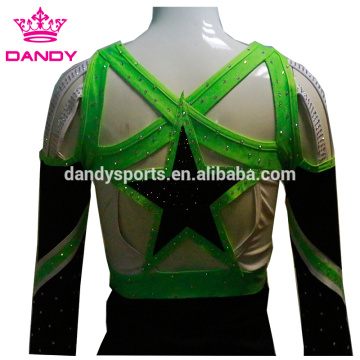Off The Shoulder Stars Cheer Dance Trang phục
