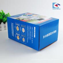 Caja de papel corrugado máquina personalizada pequeña muestra gratis