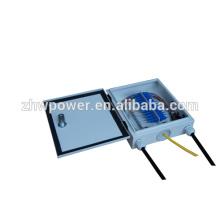Outdoor 24core distribution box,waterproof optical terminal box,FTTH fiber optic termination box