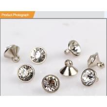 Горный хрусталь Кнопка для рубашки или украшения BA60387