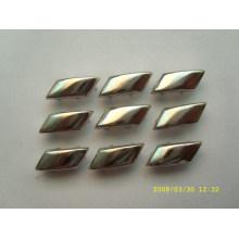 Brads de metal con plata / oro / bronce color scrapbooking brillo brads