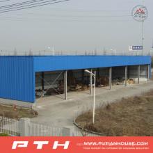 2015 entrepôt préfabriqué industriel préfabriqué de structure métallique de conception