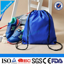 Chinese New Products Supplier Polyester or Nylon Drawstring Backpack Bag