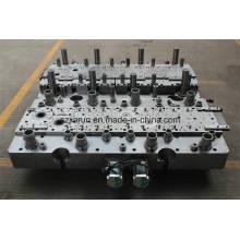 Molde progresivo, matrices de estampado para el núcleo del motor