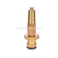 brass garden spiral jet nozzle 3 3.5 4 inch adjustable spray