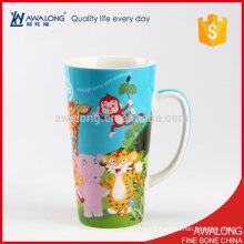 Bulk Capacity Ceramic Mug Animal Custom Designed With A Cheap Price