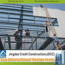Taller profesional de estructuras de acero prefabricadas