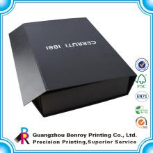 Custom luxury folding clothing packaging box