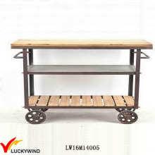 Винтажная промышленная мебель для кухни