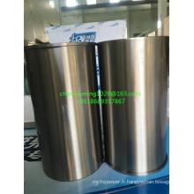 Moteur diesel Weichai Wd10 / Wp10 Revêtement de cylindre 612630010015