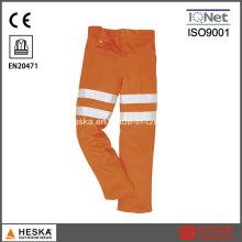 Segurança 3M reflexiva de fita Oi Vis Men′s reflexivo com calças En20471
