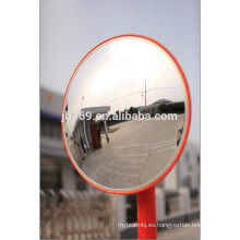 PC / PMMA espejo de convección de seguridad al aire libre de tráfico de alta calidad excelente