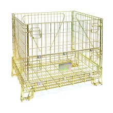 Collapsible Metal Storage Cage Container