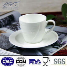 Kundenspezifisch bedruckte Blase Porzellan Teetasse und Untertasse