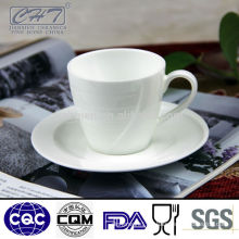 Custom printed bubble porcelain tea cup and saucer