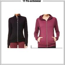 Service Outdoor Women Hooded Winter Softshell Reflective Jacket