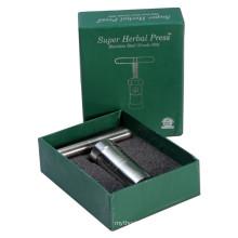 Kräuter-Pollen-Pressschleifer für das Rauchen mit großem (ES-GD-45)