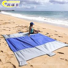 Wholesale weighted waterproof sand proof beach blanket
