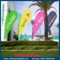 Publicidad personalizada Flying Teardrop Flags Banners