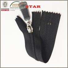 Auto Lock Leather Nylon Zipper (#3)