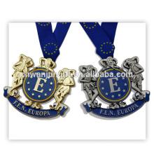 Custom Production Metal Gold Medal Awards